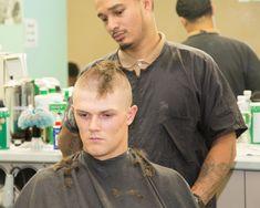 Shaved Hair Cuts, Shaved Head, Short Hair Cuts, Buzz Cut Hairstyles, Haircuts, Soldier Haircut, Buzzed Hair, Barber Shop, Shaving