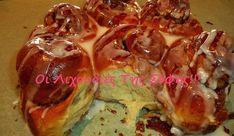 Ψωμάκια κανέλας (Cinnamon Rolls), από την Σόφη Τσιώπου! Cinammon Rolls, Sweet Pastries, Greek Recipes, Sweet Bread, Love Food, Food To Make, Cinnamon, Cabbage, Bakery