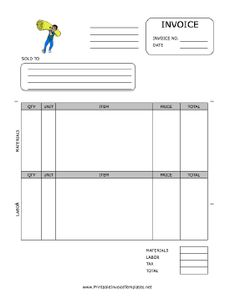 Requirements Of A Tax Invoice Excel A Printable Invoice For Use By A Cleaning Or Janitorial Firm  Duplicate Receipt Book Personalised Excel with Cheque Receipt Format Excel A Printable Invoice For Use By The Flooring Installation Industry  Featuring A Fullcolor Cash Receipt Model