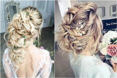 65 Long Bridesmaid Hair & Bridal Hairstyles for Wedding 2017 | Deer Pearl Flowers