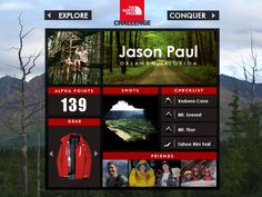 The Northface Challenge on App Design Served