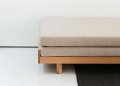 Guest Bed – BAUTIER Cube Furniture, Funky Furniture, Carriage House Apartments, Cool Things To Build, Beds For Small Spaces, Sofa Bed Design, Japanese Interior Design, Room Of One's Own, Folding Beds