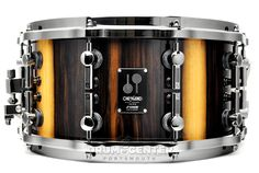 Sonor One of a Kind Snare Drum Black Chacate 14x7