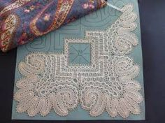 In progress 3 Bobbin Lacemaking, Types Of Lace, Bobbin Lace Patterns, Point Lace, Lace Making, Sewing Stores, Sewing Crafts, Weaving, Stitch