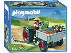 Playmobil - 4497 - Fermier/Tracteur/Faucheuse: Amazon.fr: Jeux et Jouets