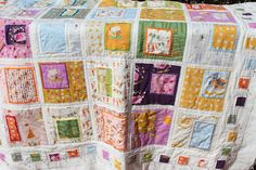 beautiful fussy cut quilt