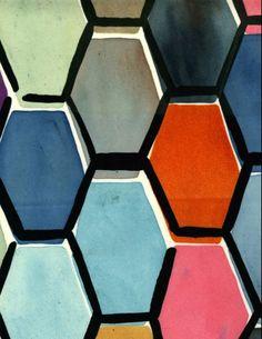 Hexagons by Luli Sanchez