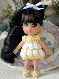 Liddle Sarah Kiddle at Easter ! by Spicyfyre Creations, via Flickr