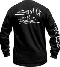 Shut up and Reel Long Sleeve Crew Neck
