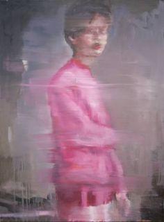 """Saatchi Art Artist Pauline Zenk; Painting, """"The pink pullover"""" #art"""