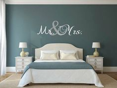 Mr. and Mrs. wall art