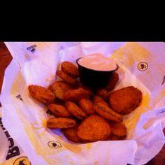 Buffalo Wild Wings fried pickles | yummy | Pinterest