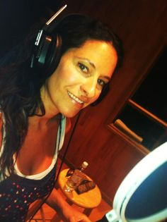 """In the studio at the Tracking Room in Nashville recording """"Quick To Judge""""."""