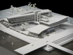 HIGH PERFORMANCE CENTRE, DURBAN by bloc architects, via Behance