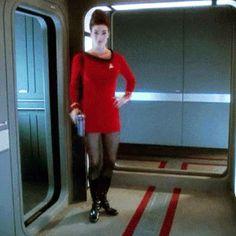Lieutenant Commander Jadzia Dax - Star Trek: Deep Space Nine, Season 5/Episode 6 'Trials and Tribble-ations'