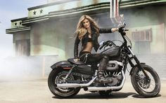 Marisa Miller, Motorcycles