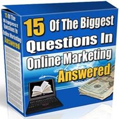 Greetings, and welcome to the top fifteen quick-fire question and answers section. Throughout this area we're going to take fifteen of the most popular questions asked by online marketers, put them in a list, and answer them in the quickest possible way.  mfga002
