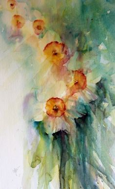 Stunning watercolour paintings by Jean Haines