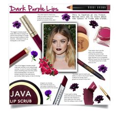 """Dark Lips"" by elisabetta-negro on Polyvore featuring bellezza, Lipstick Queen, By Terry, Caudalíe, Bobbi Brown Cosmetics, Burberry, Java, Chanel e Tom Ford"