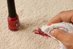Comment éliminer les taches de vernis à ongles! 3 méthodes à voir!