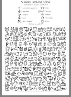 FREE PRINTABLE I SPY SHEET - how quickly can you find the ...