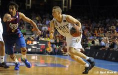 2º partido del Real Madrid Basket. Meritoria Victoria en el Palau Blaugrana.