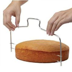 [US $1.28] faroot Stainless Wire Cake Slicer Adjustable Pizza Cutter  #adjustable #cake #cutter #faroot #pizza #slicer #stainless #wire
