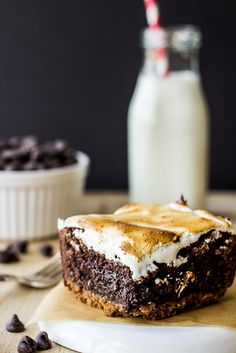 Decadent S'mores Brownies - The Beach House Kitchen