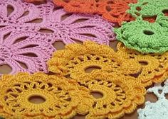 Crochet Lace video links for several how to techniques