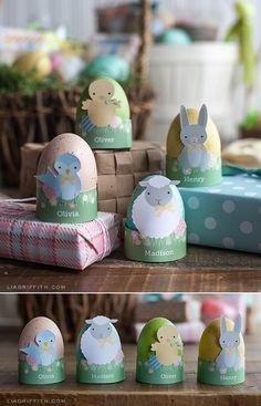 #EasterDIY #PrintableEaster #EasterCraft at www.LiaGriffith.com