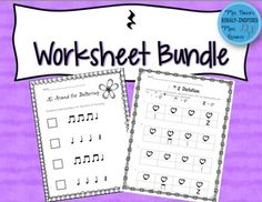 Set of 18 fun and easy assessments to practice quarter rest.