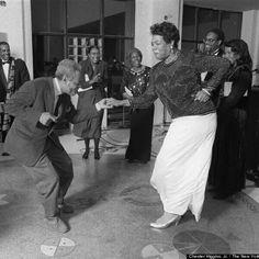 Maya Angelou and James Baldwin