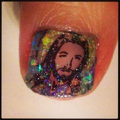 Jesus nails!
