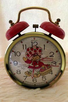 Vintage Alarm Clocks, American Greetings, Pot Sets, Strawberry Shortcake, Berries, Etsy Shop, Beaded Bracelets, Diy, Bricolage