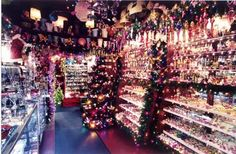 Chelsea Christmas Shop, one of my favorite New York shops