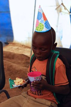 Celebrating the grand opening of the Care Center in Lesotho!