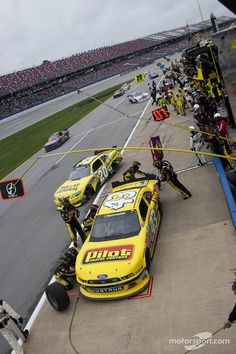 Nice pic from pit road at Talladega