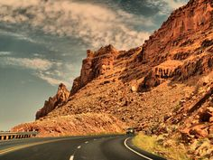 Those long winding country roads...... I love living in the southwest.