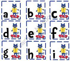 pete the cat printables for preschool   Preschool Printables: Pete the Cat
