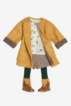 Loveliest fall outfit for a little girl. Actually, I wouldn't mind if some of these came in adult size!