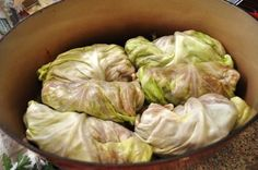 Stuffed cabbage rolls are one of our favorite meals. This recipe is the one i was given and have loved for decades.