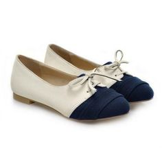 Cheap Wholesale Casual Suede and Color Matching Lace-Up Design Women's Spring Flat Shoes (BLUE,39) At Price 14.01 - DressLily.com