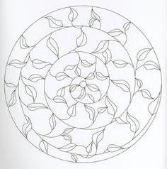 Mandala Stained Glass Patterns
