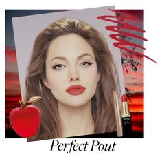 """Perfect Pout- Angelina"" by deborah-strozier ❤ liked on Polyvore featuring beauty, L'Oréal Paris, Estée Lauder, Daum, NARS Cosmetics and mattelipstick"
