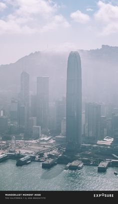 Today's #WanderlustMoment takes us to the city of Hong Kong  captured by @danfreemanphoto