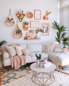 """Castlery US on Instagram: """"✨What could be the full potential of your living room – this whimsy botanical styling by @houseofchais, featuring our Henri sectional sofa."""" Deco Studio, Living Room Decor Inspiration, Living Room Decorating Ideas, Decoration Inspiration, Foyer Decorating, Decorating Kitchen, Cute Room Decor, Modern Room Decor, Boho Living Room"""