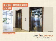 Arihant Anshula - Taloja Phase II 1, 2 & 3 BHK Mini Township  Elevators in Each Wing  www.asl.net.in/arihant-anshula.html  #ArihantAnshula #RealEstate #Taloja #NaviMumbai #Property #LuxuryHomes