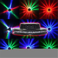 Sunflower 48LED RGB Stage Lighting Bar Party Disco DJ Light Effect Sound-Control - http://musical-instruments.goshoppins.com/stage-lighting-effects/sunflower-48led-rgb-stage-lighting-bar-party-disco-dj-light-effect-sound-control/