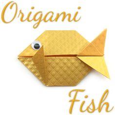 New Origami Tutorial Fish Fun 42 Ideas Gato Origami, Origami Yoda, Origami Bag, Origami Envelope, Origami Dragon, Fabric Origami, Origami Butterfly, Diy Origami, Origami Tutorial