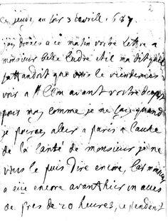 Lettre de la princesse Palatine à Ludre